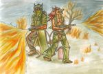 The Pyro Duo by SteinWill