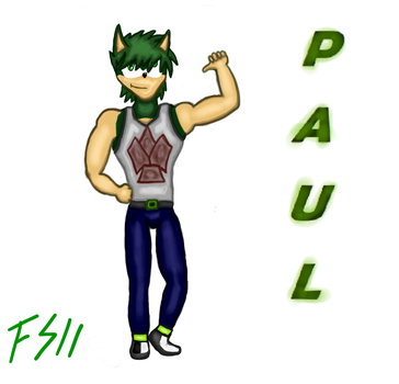 Paul Speed - Big Brother (Nuevo Personaje) by Fedespeed11