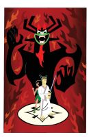 Samurai Jack Final Battle by zandercartoon