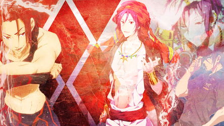 Free! Rin Matsuoka Desktop (Requested) by Lyddz