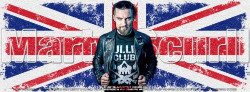 Marty Scurll Facebook Cover Photo by ChrisNeville85