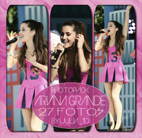 Photopack #160 |Ariana Grande| by juliahs1D