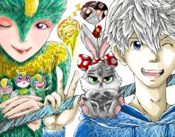 Rise of the Guardians by zetfer