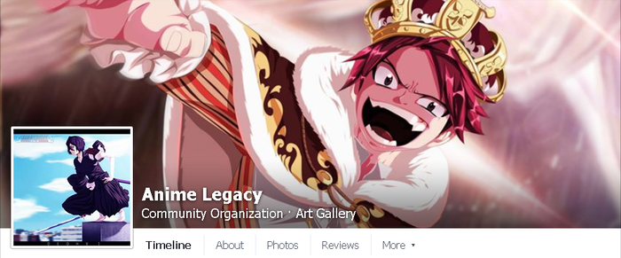 FB // Official.Anime.Legacy by AJM-FairyTail