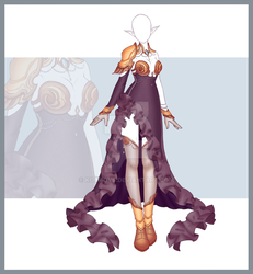 [Close] Adoptable Outfit Auction 208 by Kolmoys