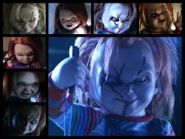 Curse of Chucky Collage by sonicshadowlover13