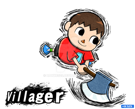 Smash Art: Villager by Hawke525
