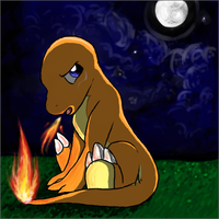 BabyCharmander by KelpGull