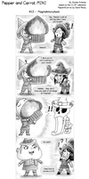 [Pepper and Carrot MINI] #13 - Magmahmorphosis by Nartance