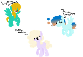 Mystery Adopt result #2,#3 and #4 by Skystar20