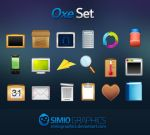 Oxe Icons Set by simiographics