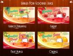 Goodies Juice Lables by Gallistero