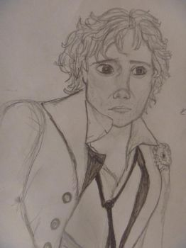Enjolras sketch by OnceUponANight23