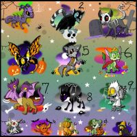 Free Spooky Adoptables Closed by Electric-Mongoose