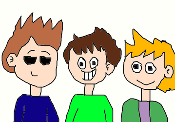 Tom, Matt and Edd from Eddsworld by MikeJEddyNSGamer89