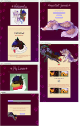 Paws profile design and coding by UszatyArbuz