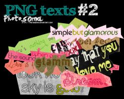 PNG texts 2 by photosoma