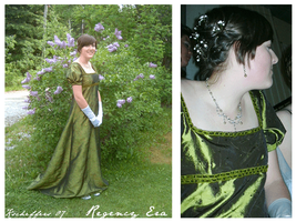 Regency Era Gown by kscheffers