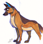 Stray pen doodle by Stray-Sketches