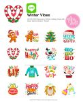 Winter Vibes: Line App by MissChatZ