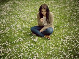 In My Field Of Paper Flowers by KayleighBPhotography