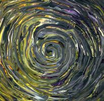spirals and circles by anuvys