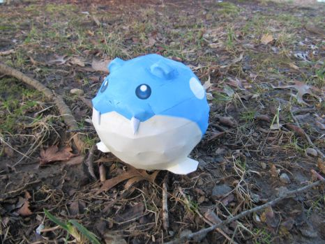 Spheal by RakogisPapercraft