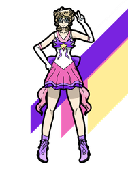 Magical Girl Tye Collab by RattleAndBolt