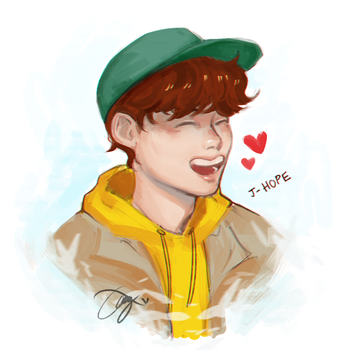 J-Hope by AnaissuBab