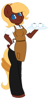 Anthro Coffee Candy by AbyssSeraphic