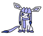 Scarfed Glaceon by CestQuelleADit