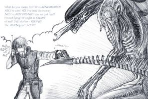 It's a Xenomorph by Blindice