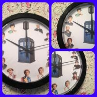 Dr. Who Doctor wall clock by magpie89
