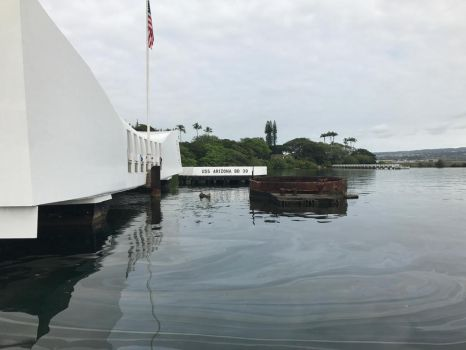 USS Arizona Memorial by DarthShinji