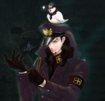 ONEPIECE-Lucci-the warden of Impel Down by usaki1987