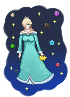 Princess Rosalina by MarioK9