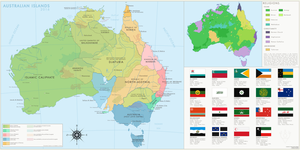 Australian Islands 2016 by ImDeadPanda