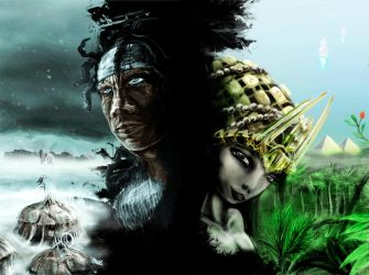 Tassili and the extraterrestial princess by Ryoishen
