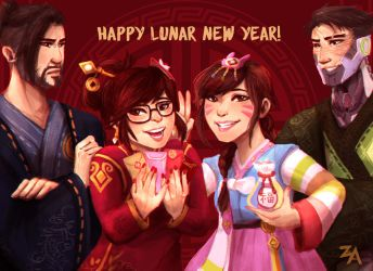 Happy Chinese New Year! by ZLynn