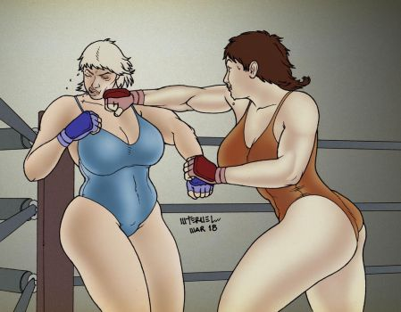 Catching Punches by MiltonTeruel