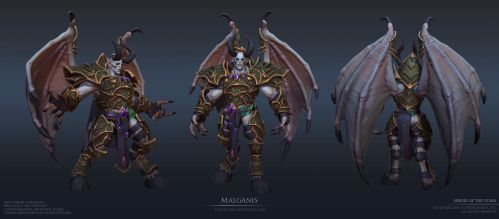 Malganis by FirstKeeper