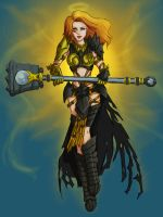 Leona Full Color by poogybearart