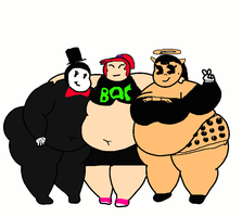 [R]: 3 Chubbie Girls by Spongecat1