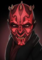 Darth Maul by amonir1981