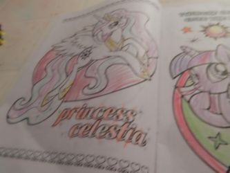 princess celestia color 2 by flickahorses