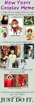 Cosplay Meme by CheshireMax