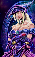 Dark Magician Girl by BlackExcell