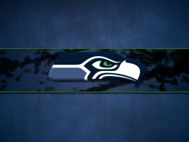 Seattle Seahawks Background 2 by cotrackguy