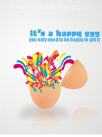 Egg of Happiness by eugeniaclara