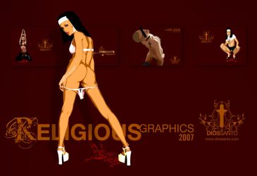 RELIGIOUS graphics 2007 by minimalminds